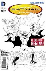 Batman Inc. vol. II, #12 b&w variant