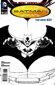 Batman Inc. vol. II, #13 b&w variant