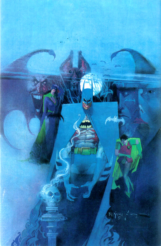 Bill Sienkiewicz Batman