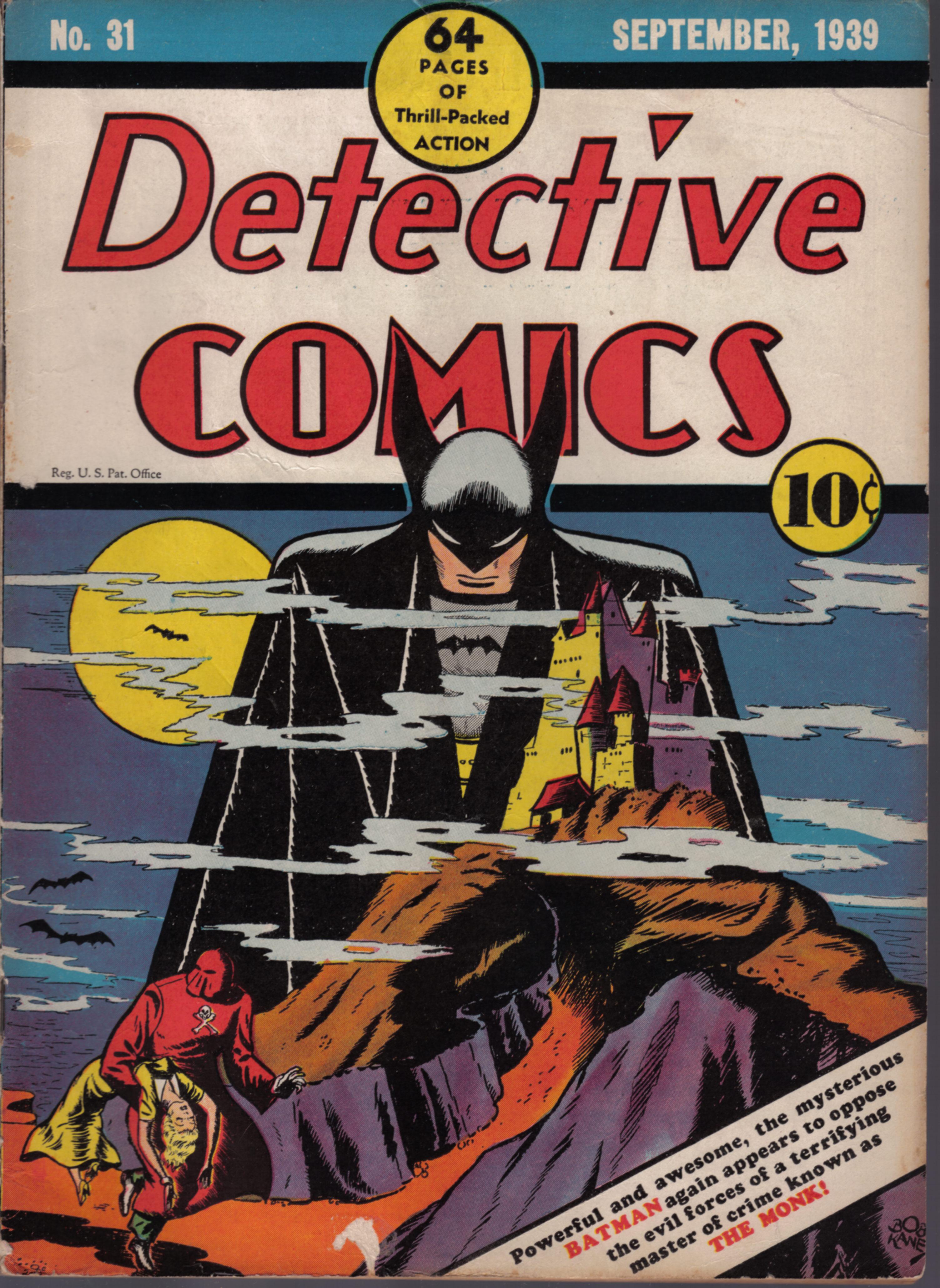 Classic Comic Book Cover : The top ten batman covers from each era part