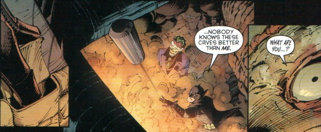 Good thing Joker left his utility belt on...
